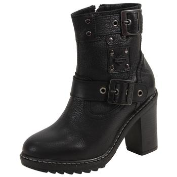 Harley Davidson Women's Ludwell Double Strap Boots Shoes