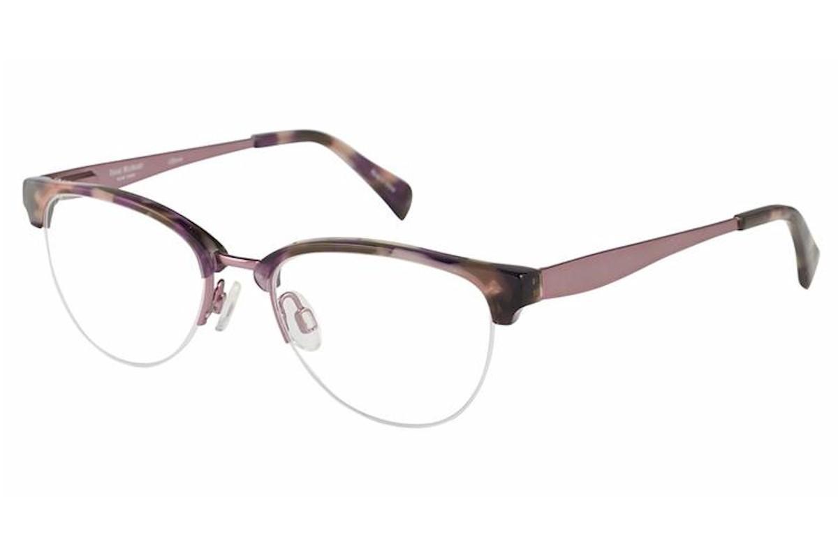 Image of Isaac Mizrahi Women's Eyeglasses IM30011 IM/30011 Half Rim Optical Frame - Pink - Lens 48 Bridge 17 Temple 135mm