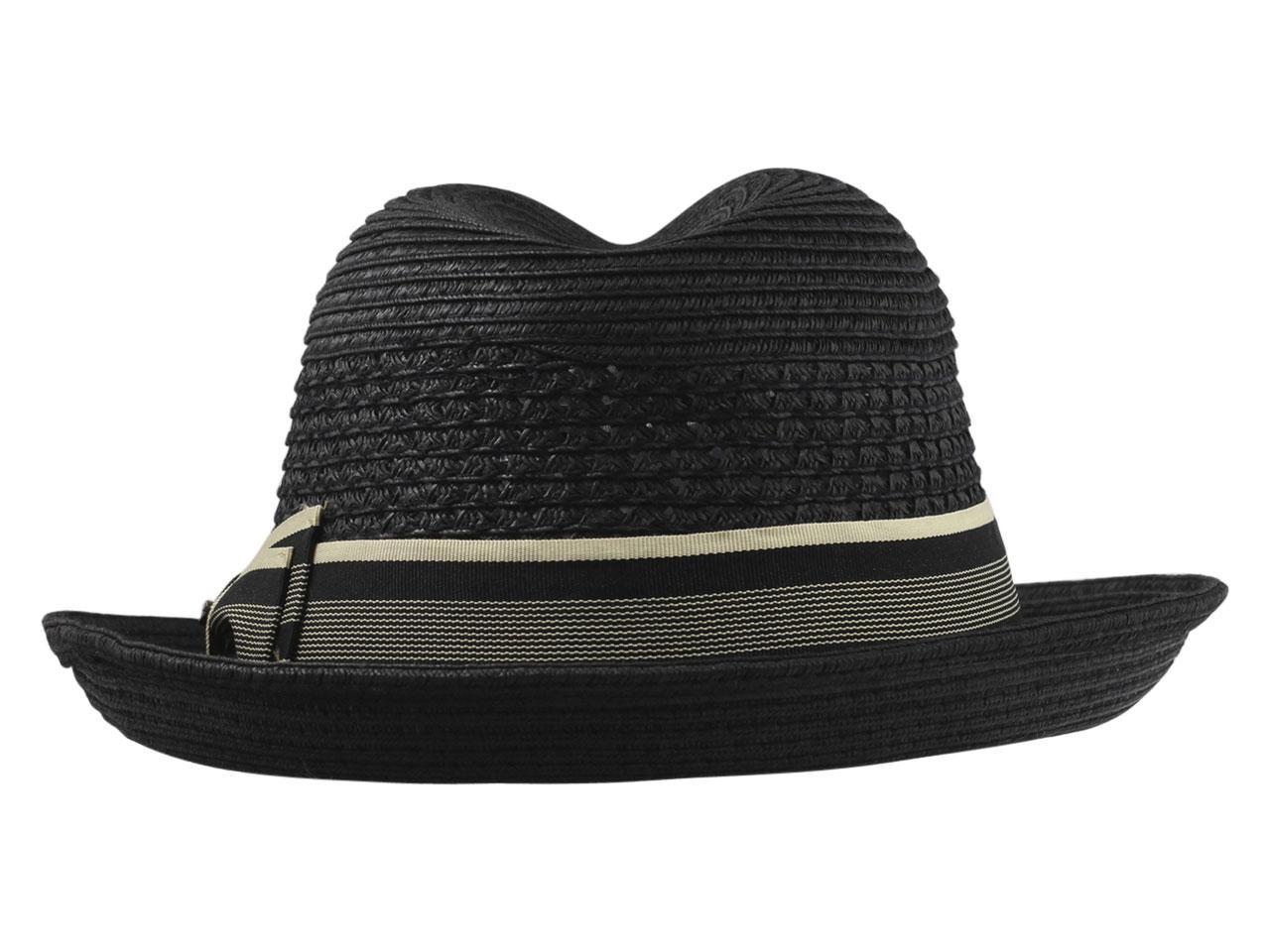 d14d9dff Scala Men's Paper Braid Toyo Fedora Hat by Scala