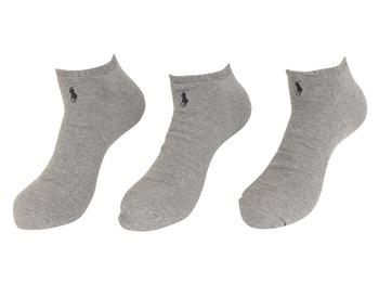 Polo Ralph Lauren Men's 3-Pairs Classic Sport No-Show Socks