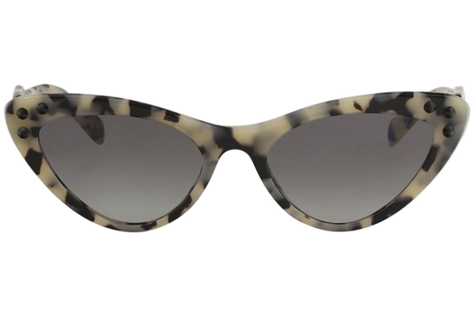 91ff80a26c73 Miu Miu Women s SMU05T SMU 05T Fashion Cat Eye Sunglasses