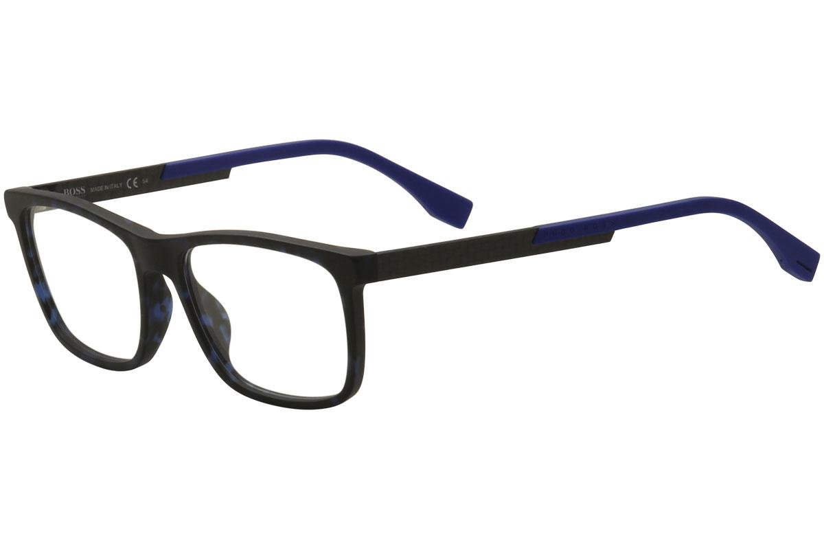 78f621ba8cc Hugo Boss Men s Eyeglasses 0733 Full Rim Optical Frame