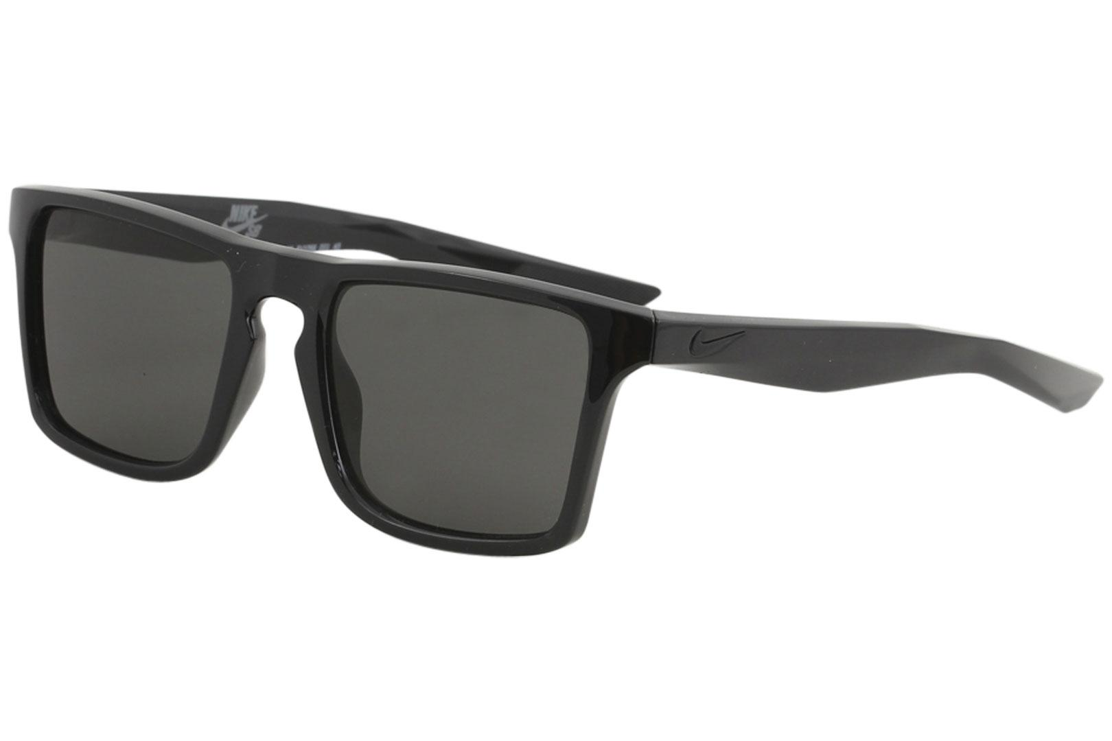 Image of Nike SB Men's Verge EV1059 EV/1059 Sport Square Sunglasses - Black/Dark Grey   001 - Lens 52 Bridge 19 Temple 145mm
