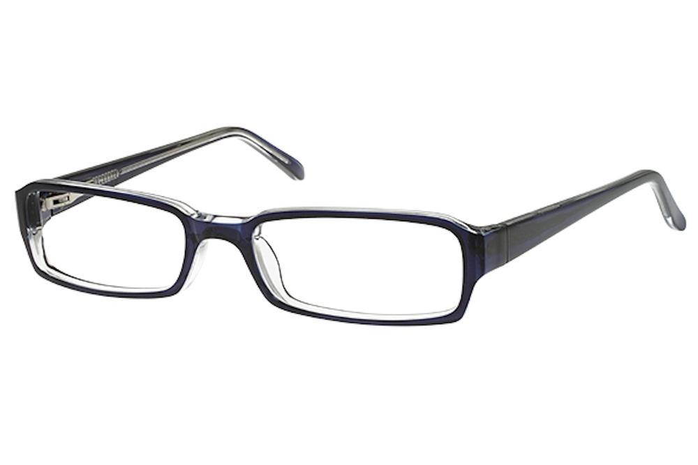 Image of Bocci Girl's Eyeglasses 351 Full Rim Optical Frame - Blue   09 - Lens 50 Bridge 17 Temple 135mm