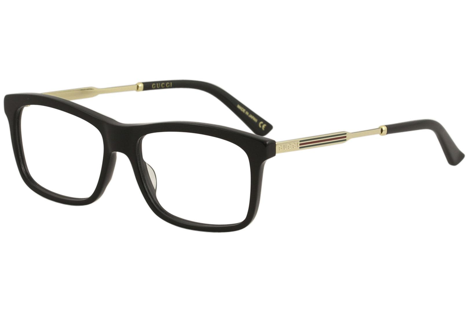 5ce0655c1ff4 Gucci Men's Eyeglasses GG0302O GG/0302/O Full Rim Optical Frame