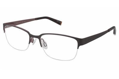 Image of Esprit Women's Eyeglasses ET17472 ET/17472 Half Rim Optical Frame - Black - Lens 50 Bridge 17 Temple 135mm