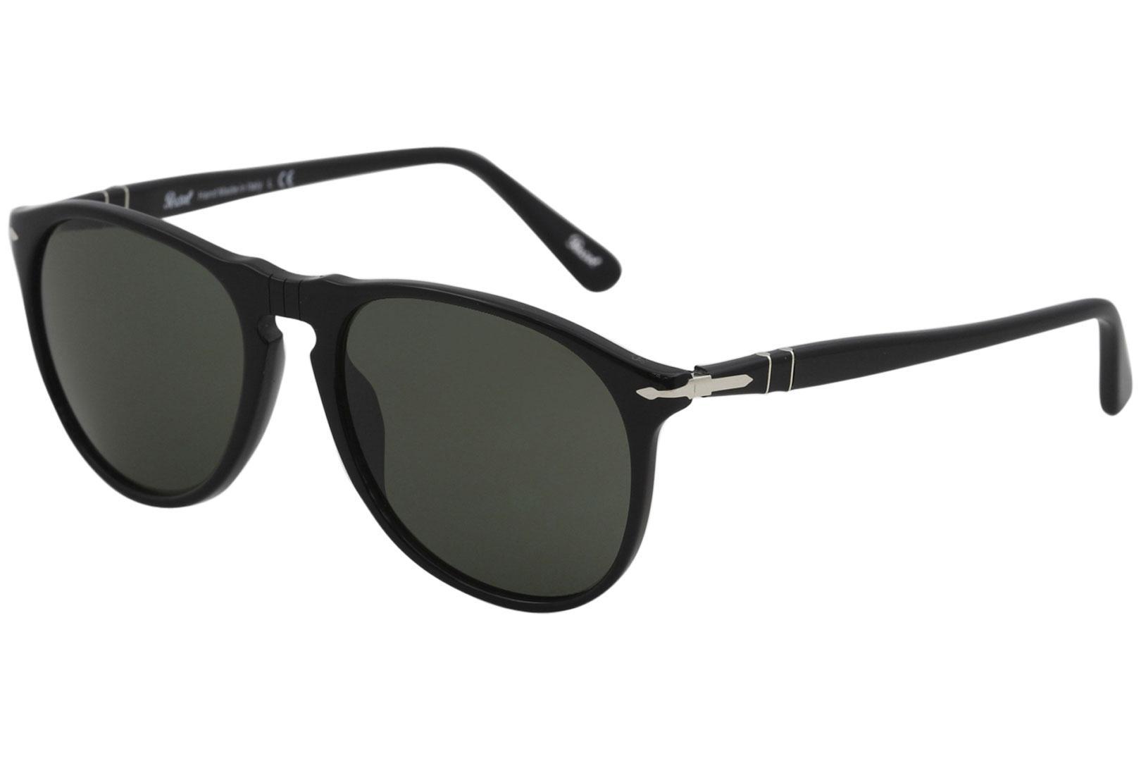 7d84a639fd9 Persol Men s PO9649S PO 9649 S Fashion Pilot Sunglasses