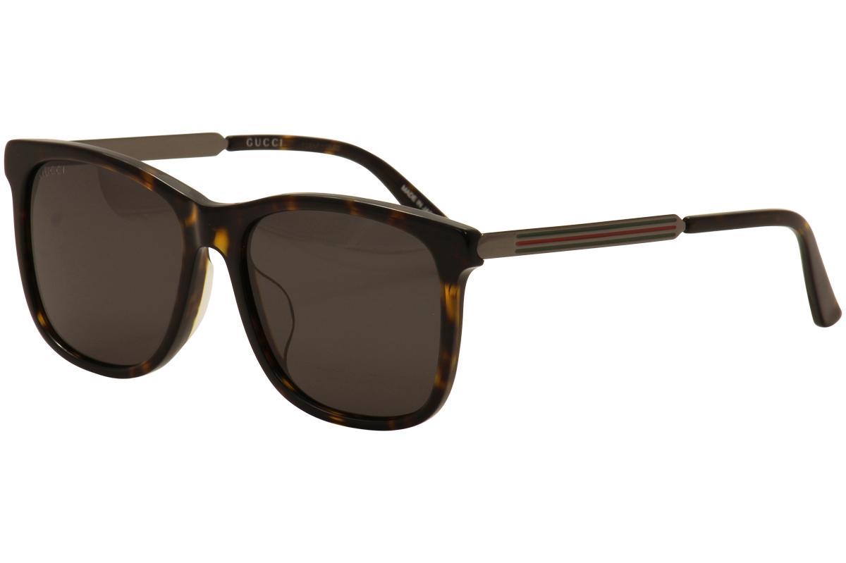0e7222b20f0 Gucci Men s GG0078SK GG 0078 SK Fashion Sunglasses