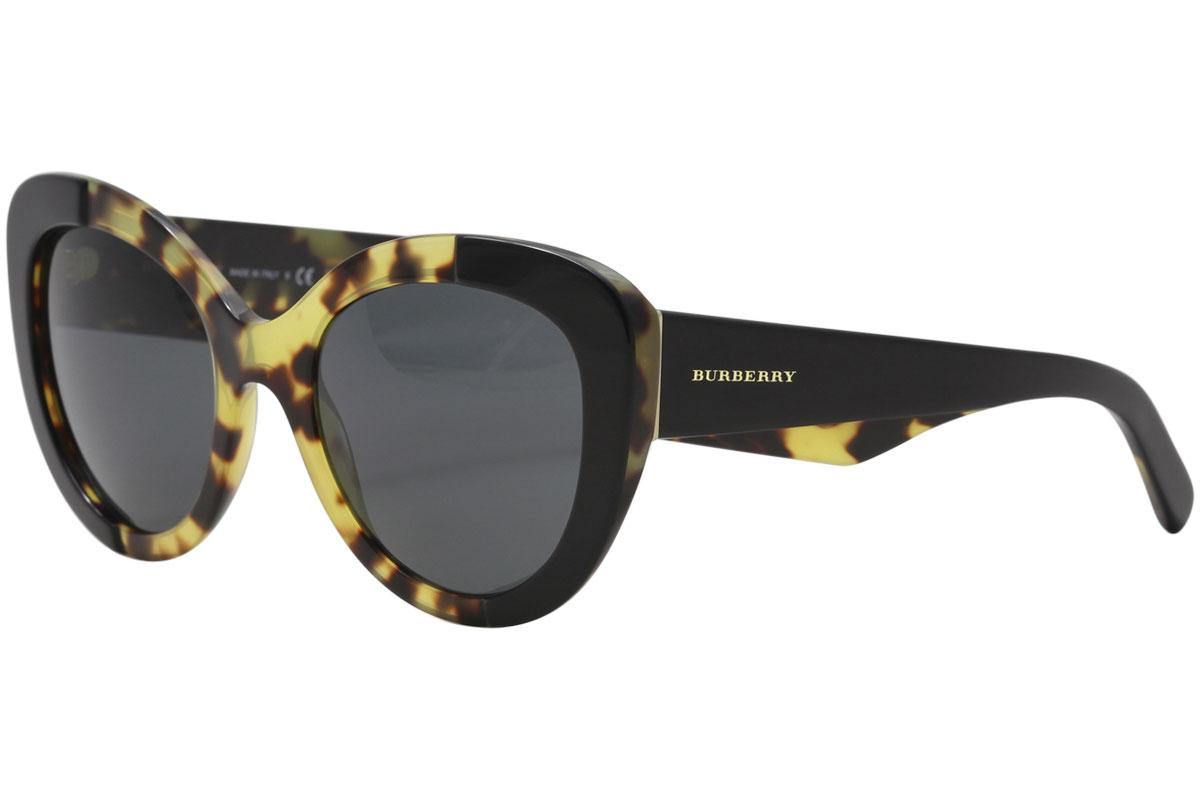 b36d4effc3f4 Burberry Women's BE4253 BE/4253 Round Sunglasses