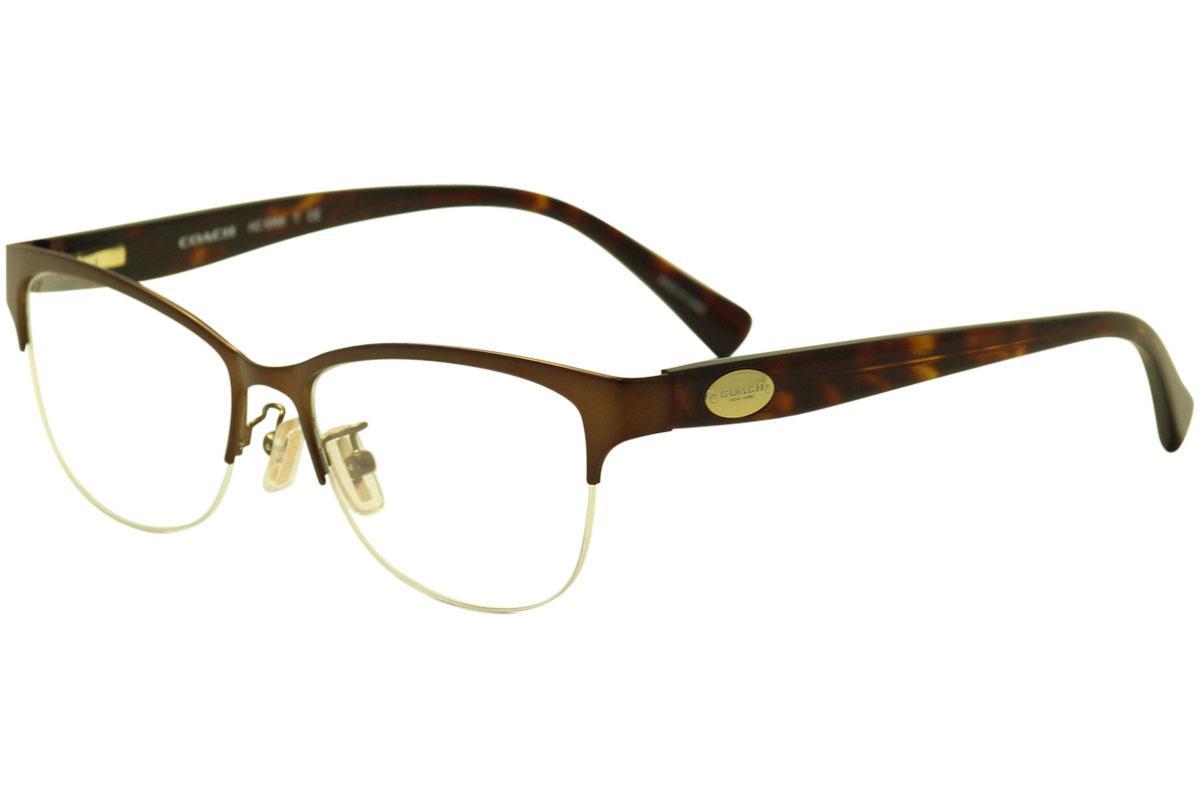 Coach Women\'s Eyeglasses HC5066 HC/5066 Half Rim Optical Frame