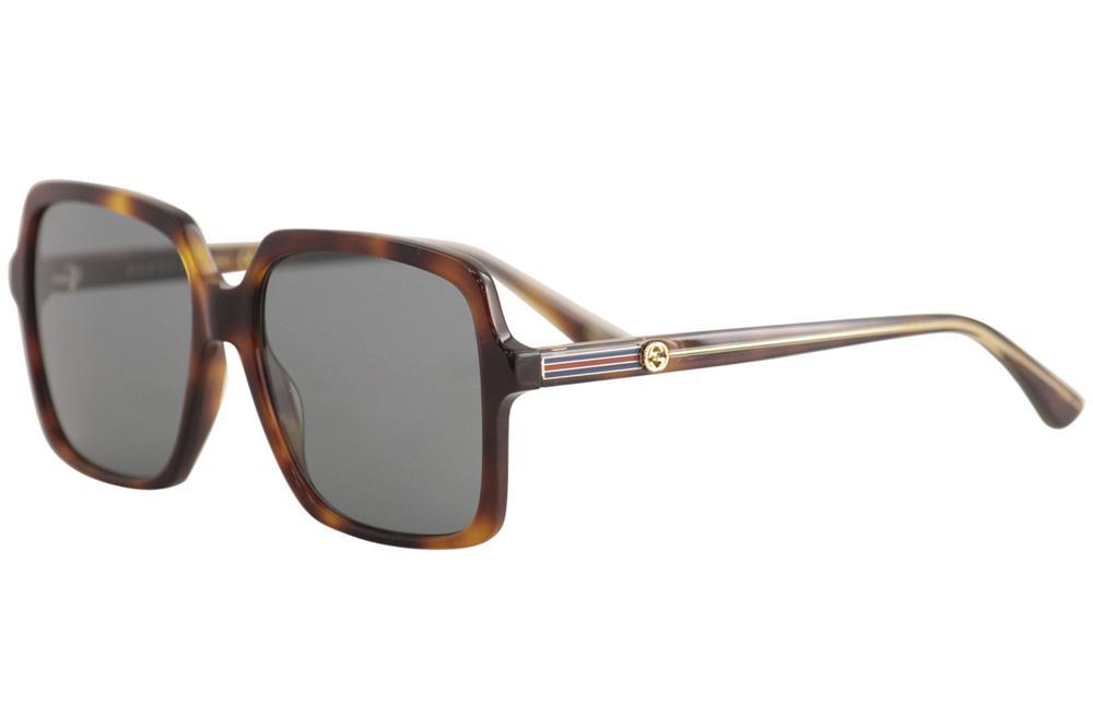 9d094bdaca153 Gucci Women s GG0375S GG 0375 S Fashion Square Sunglasses