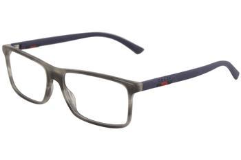 38cfcd9a076a Gucci Men's Eyeglasses GG0424O GG/0424/O Full Rim Optical Frame