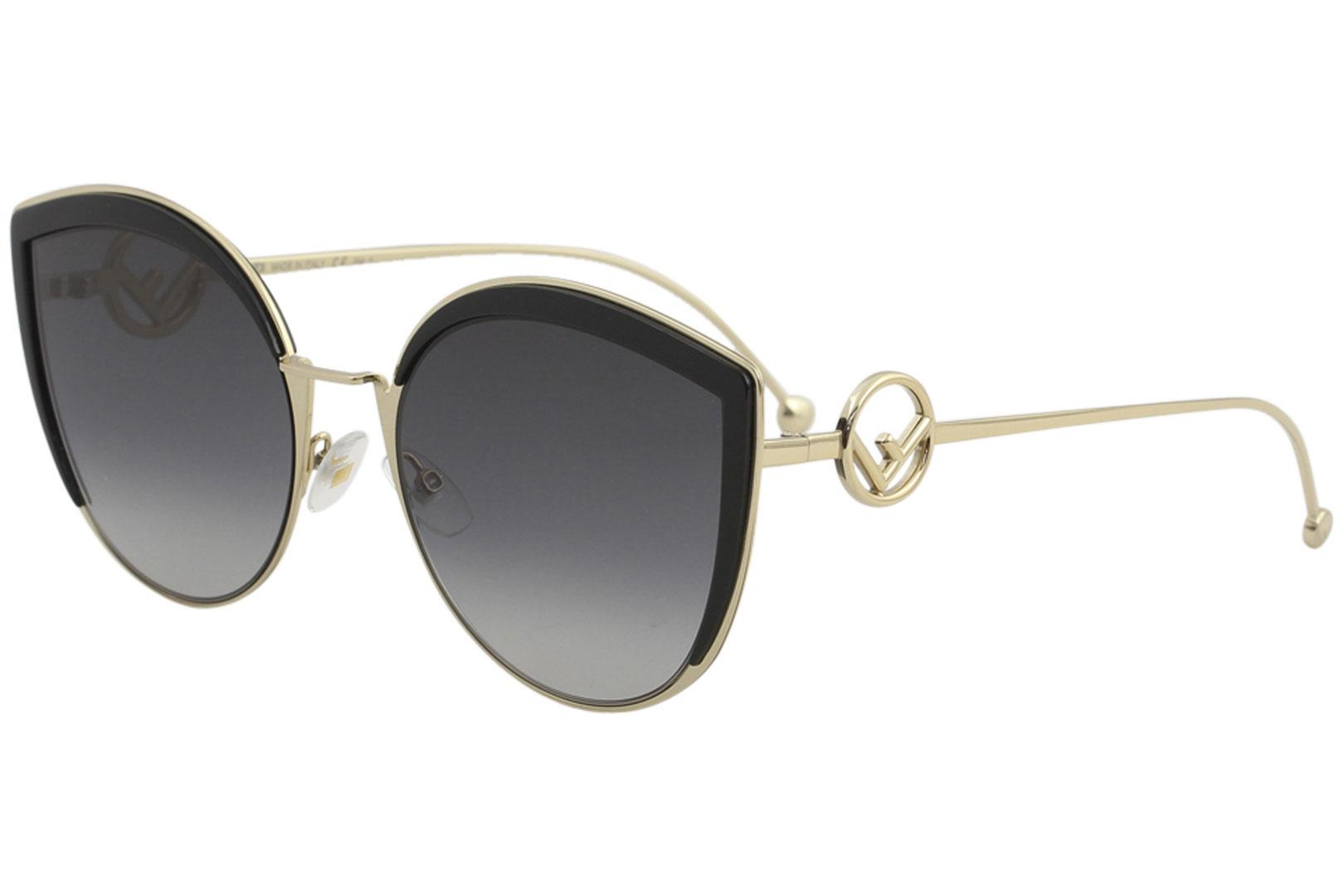 Fendi Women's FF0290/S FF/0290/S Fashion Cat Eye Sunglasses