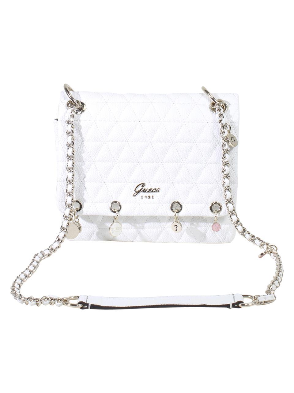 77cb291ec07 Guess Women s Fleur Charm Crossbody Handbag