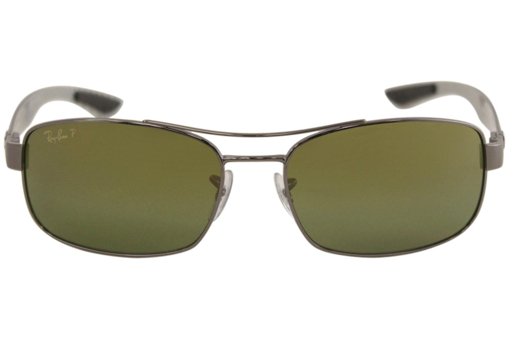 3bc9f14ea9 Ray Ban Chromance RB8318CH RB 8318 CH RayBan Rectangle Polarized Sunglasses  by Ray Ban. 12345