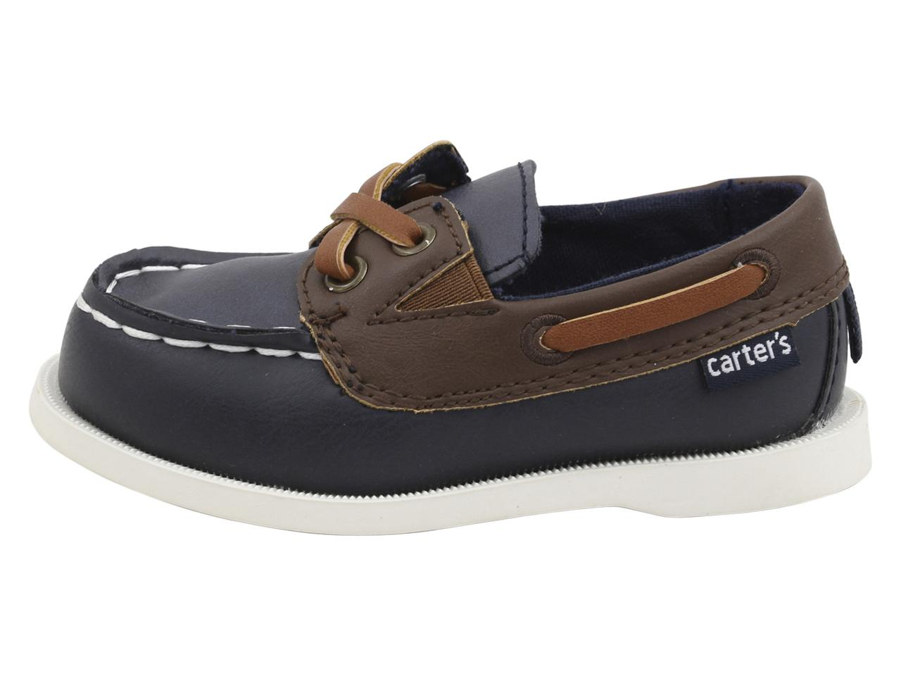 a1b217291 Carter s Toddler Little Boy s Bauk Loafers Boat Shoes by Carter s