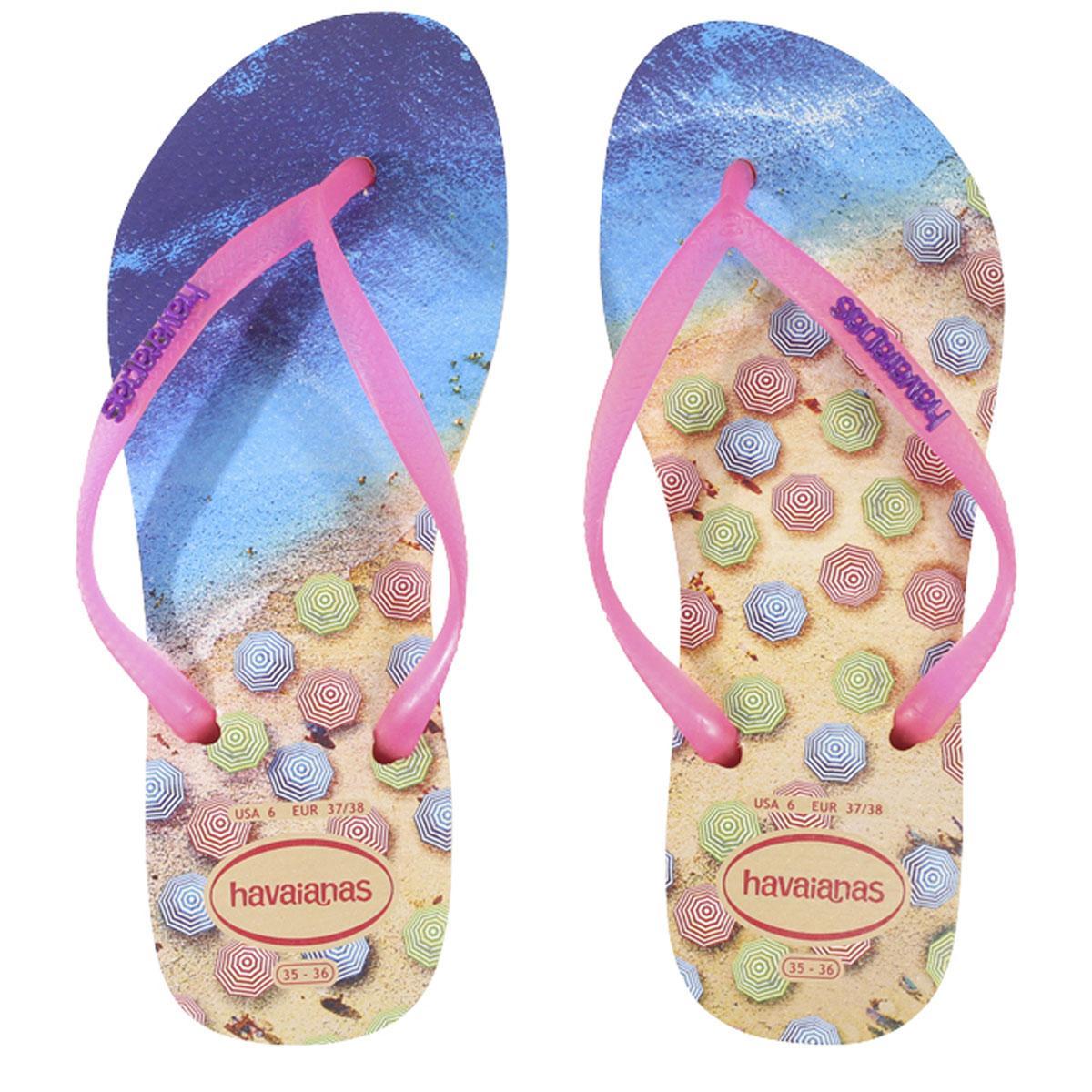 3a4568089fcfde Havainas Women s Slim Paisage Flip Flops Sandals Shoes by Havainas