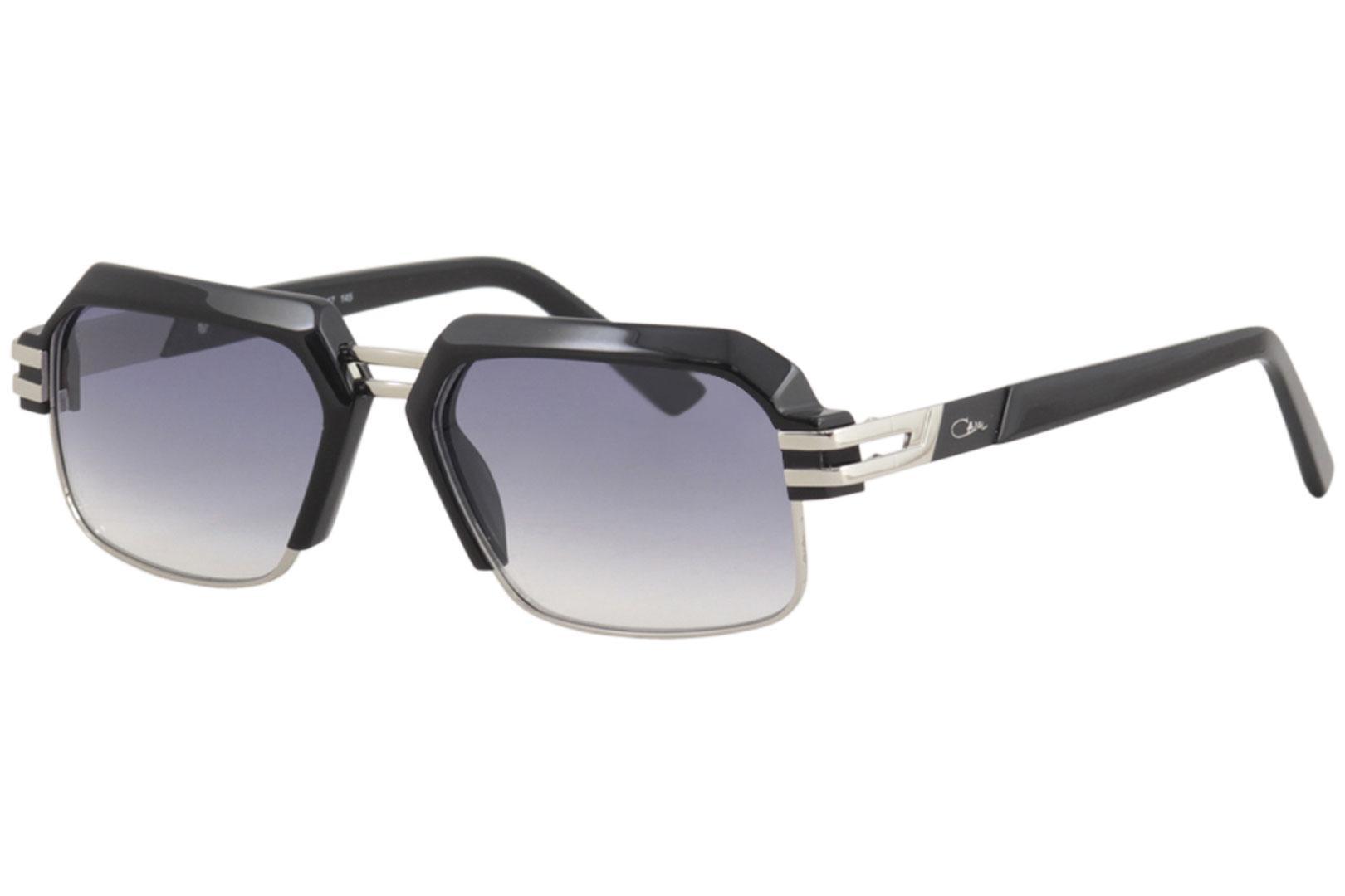 8451ff7eae4b Cazal Men s 6020 Retro Rectangle Sunglasses