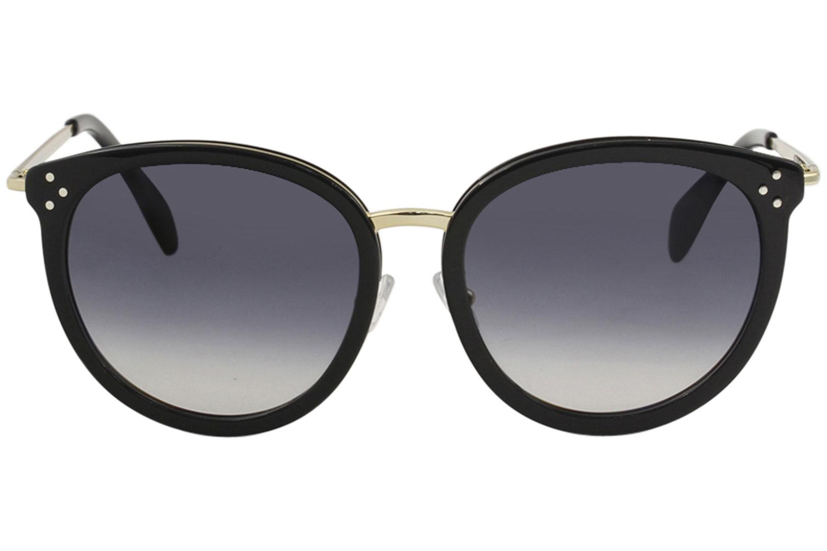 4db6fef00d8 Celine Women s CL40033F CL 40033 F Fashion Round Sunglasses by Celine