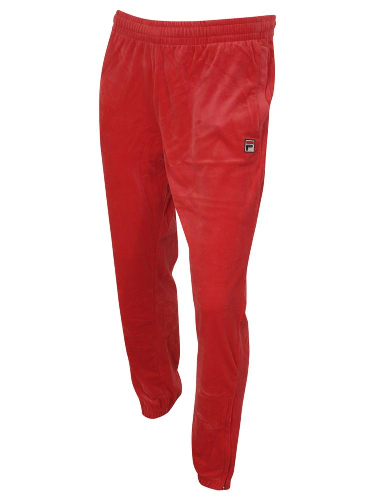 2a5fb632459f0 Fila Men's Whyte Velour Jogger Track Pants