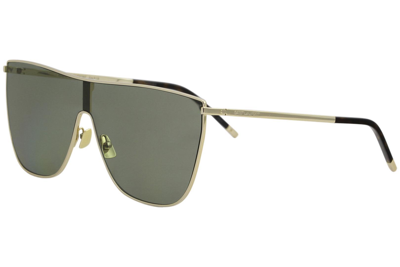 cecad3ce31b Saint Laurent Women s New Wave SL1 SL 1 Fashion Shield Sunglasses