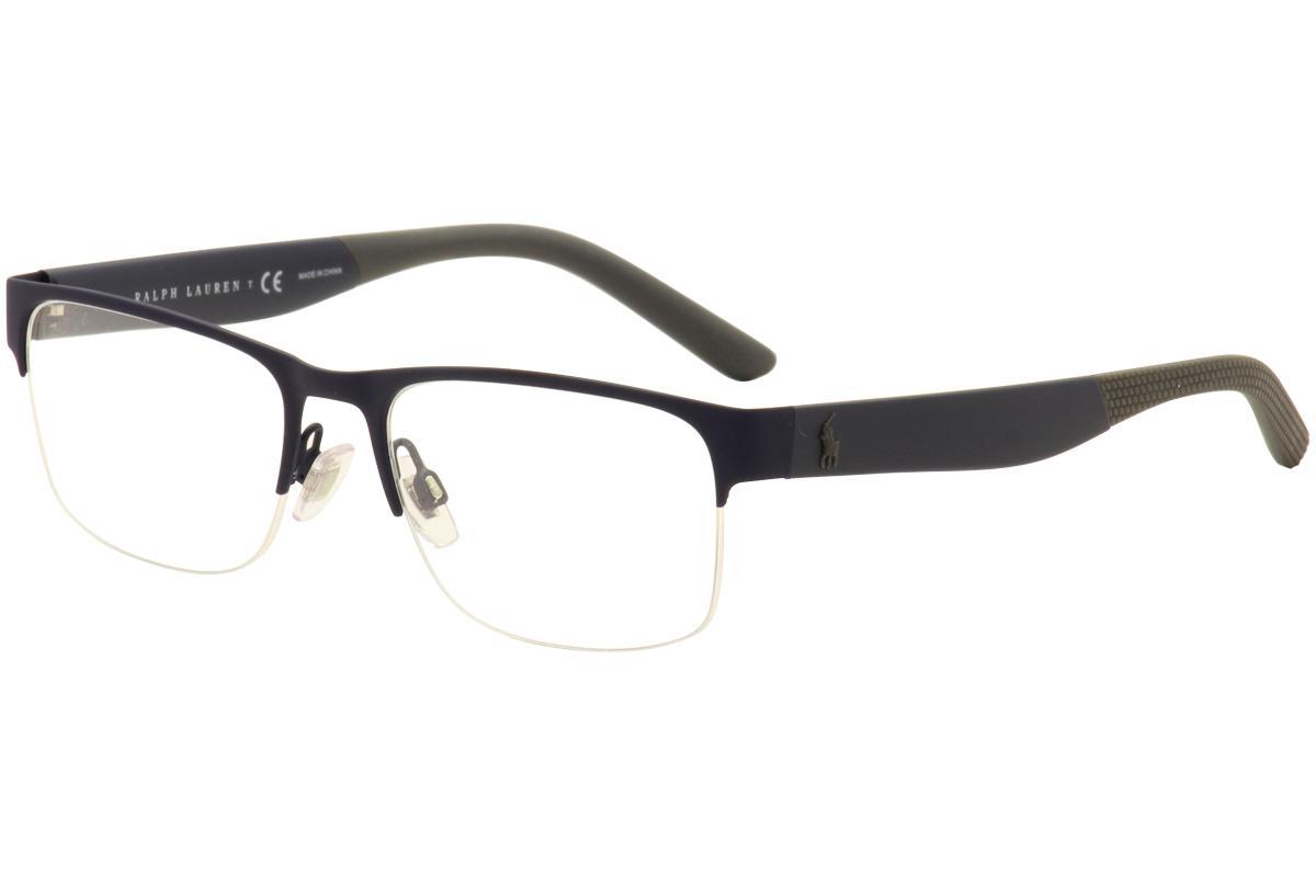 Polo Ralph Lauren Eyeglasses PH1168 PH/1168 Half Rim Optical Frames