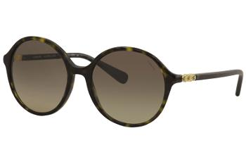 Coach Women's HC8188B HC/8188/B Fashion Round Sunglasses