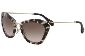 7b62297c0b19 Miu Miu Women s SMU10N SMU 10N Fashion Cat Eye Sunglasses by Miu Miu. Touch  to zoom. 1234567