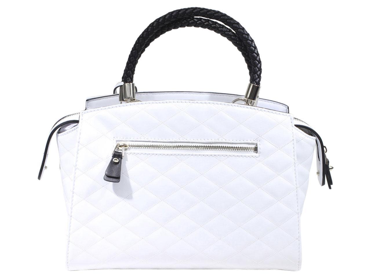Guess-Women-039-s-Heather-Embroidered-Satchel-Handbag