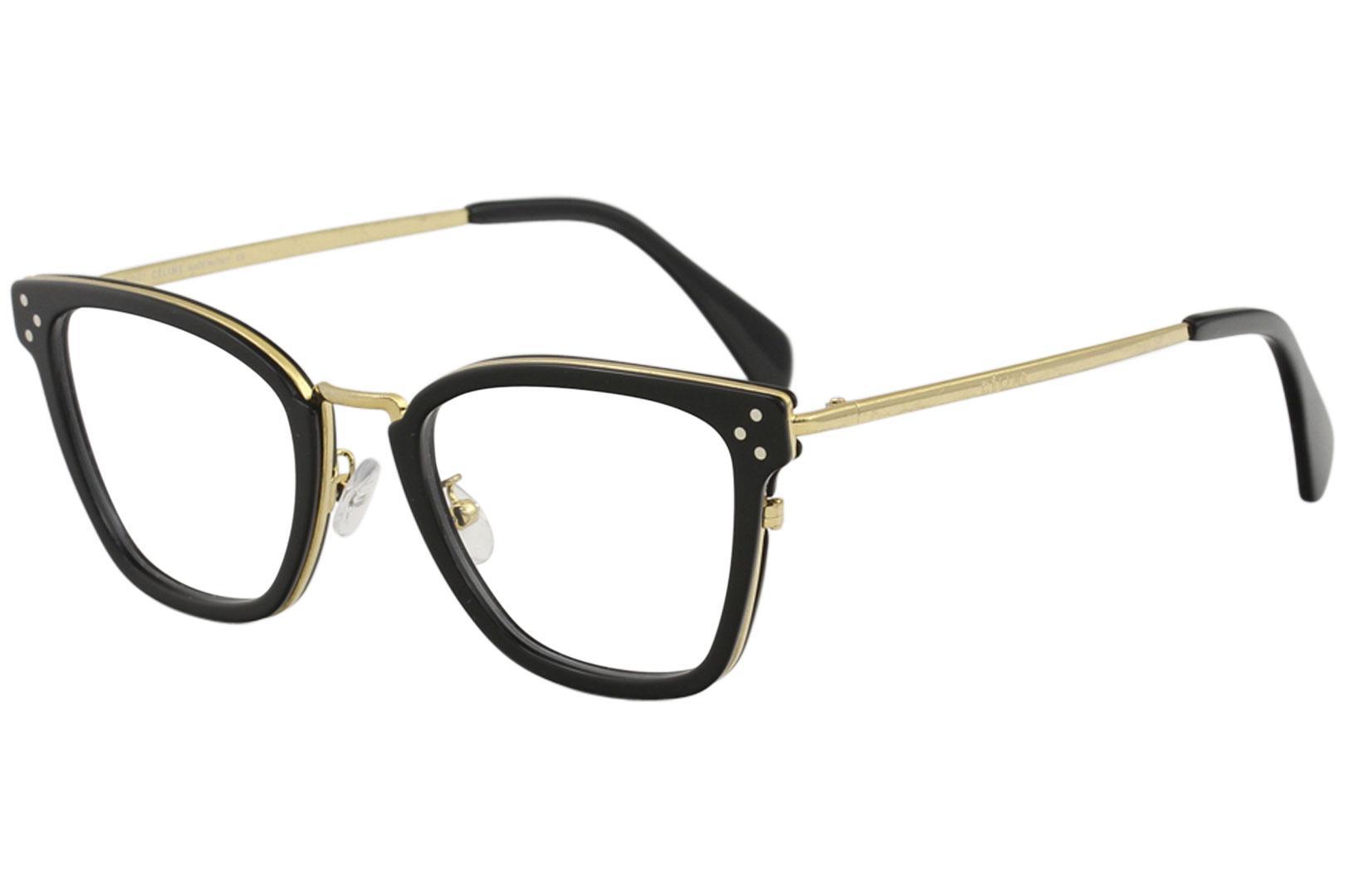 c12f1a1cf36 Celine Women s Eyeglasses CL50002U CL 50002 U Full Rim Optical Frame