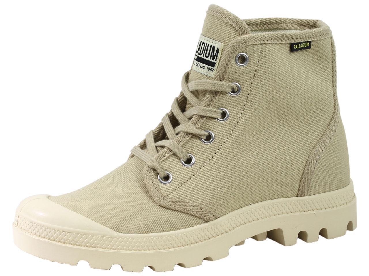 Image of Palladium Men's Pampa Hi Originale Chukka Boots Shoes - Beige - 7.5 D(M) US/9 B(M) US