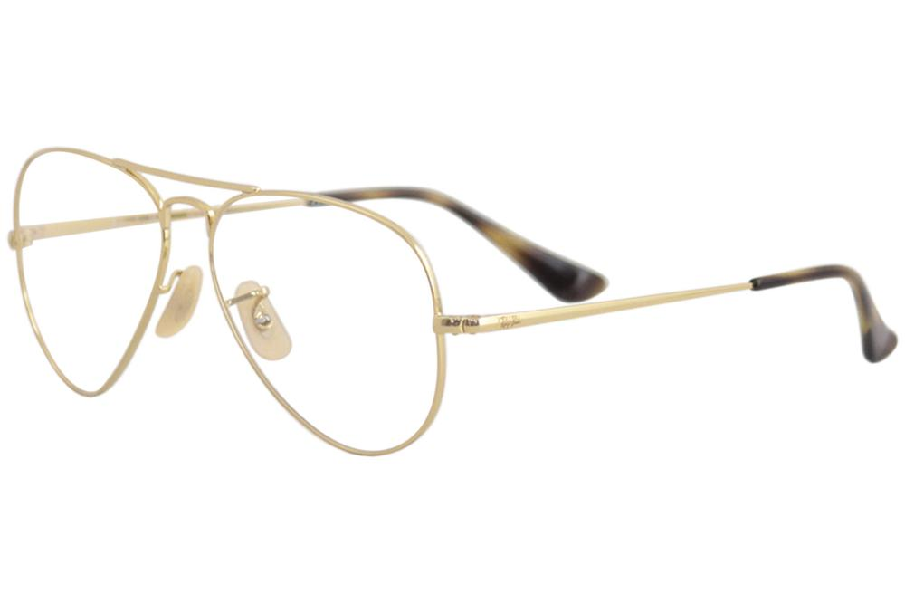 2e1216cb169 Ray Ban Eyeglasses RB6489 RX6489 RX 6489 Full Rim Aviator RayBan Optical  Frame