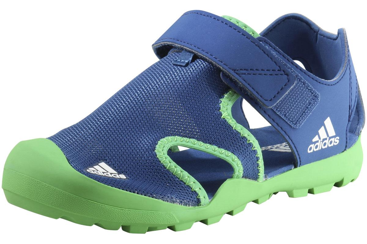 Image of Adidas Little/Big Boy's Captain Toey Sandals Water Shoes 2 M US Little Kid