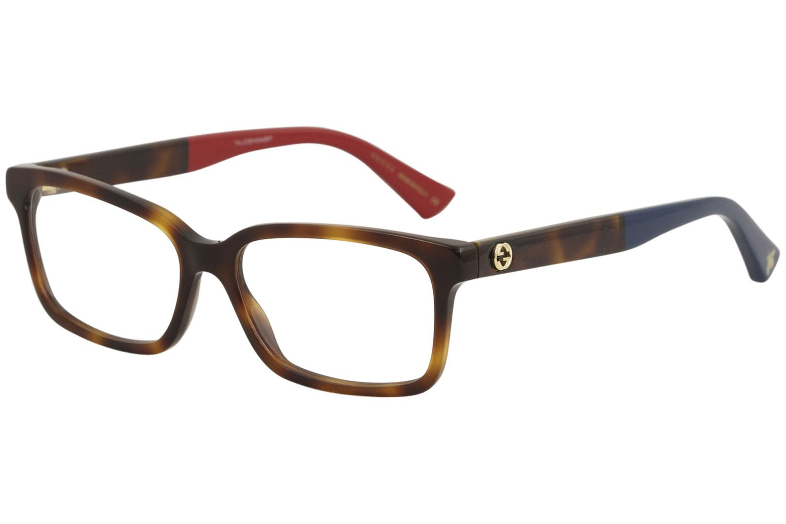 Gucci Women\'s Eyeglasses GG0168O GG/0168/O Full Rim Optical Frame