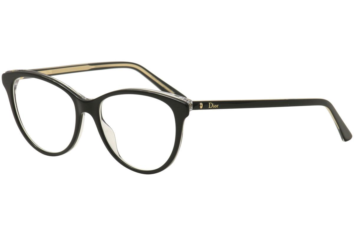 33c5a5314c0 Christian Dior Women s Eyeglasses Montaigne-17 Full Rim Optical Frame