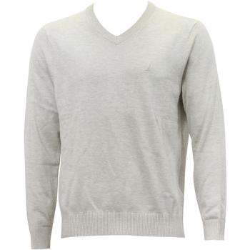 Nautica Men's Solid Classic V-Neck Long Sleeve Sweater