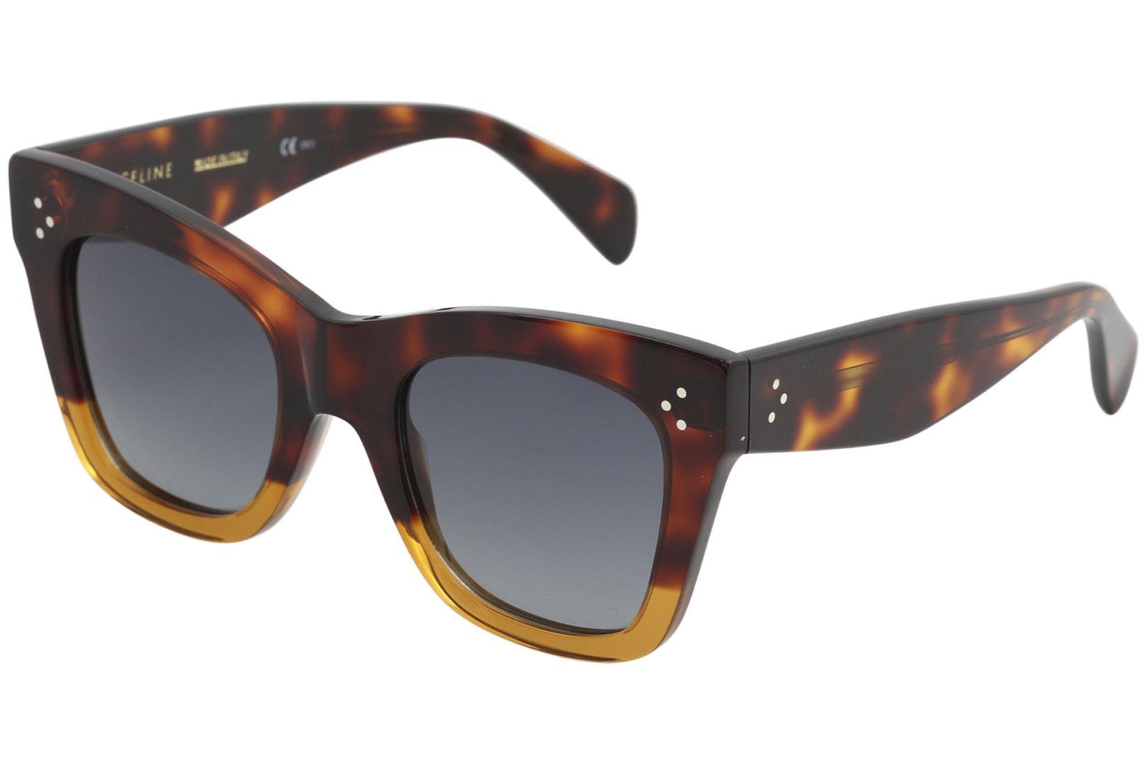 027b63a0668 Details about Celine CL 41090S 41090 S 233 HD Havana Brown Fashion  Sunglasses 50mm