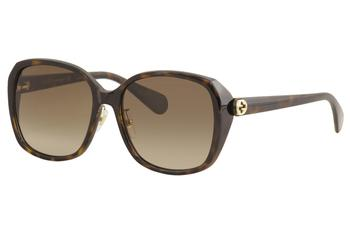 Gucci Women's GG0371SK GG/0371/SK Fashion Square Sunglasses