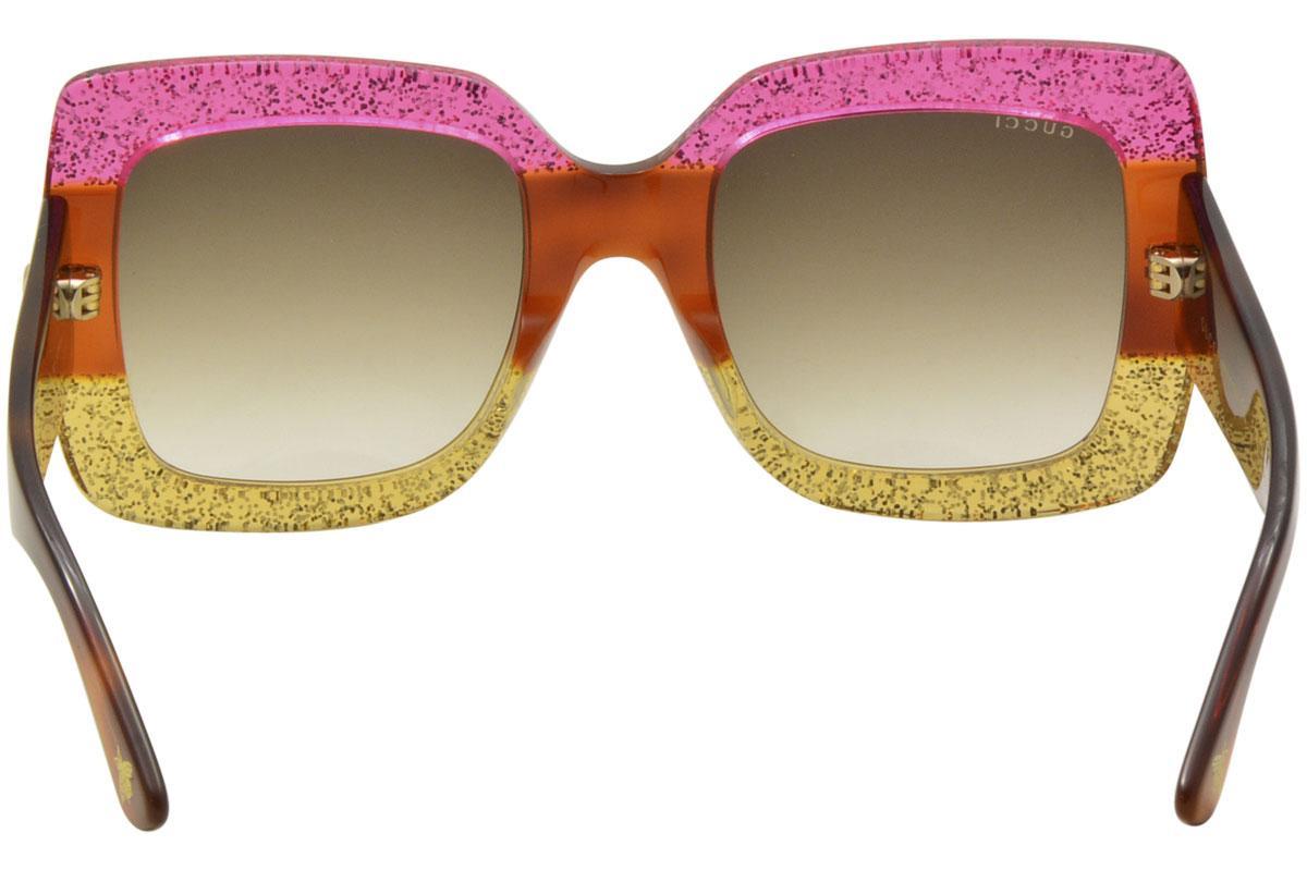 dcda4b31be6 Gucci Women s GG0083S GG 0083 S Square Sunglasses by Gucci