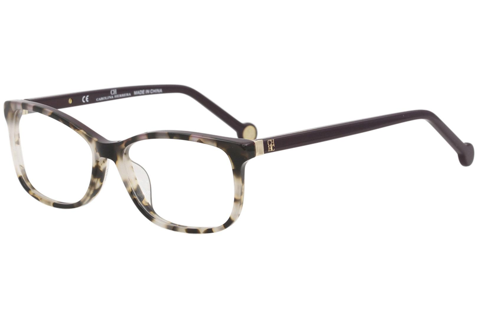 08b222f5ad CH Carolina Herrera Women s Eyeglasses VHE732K VHE 732K Full Rim Optical  Frame by Carolina Herrera. Touch to zoom