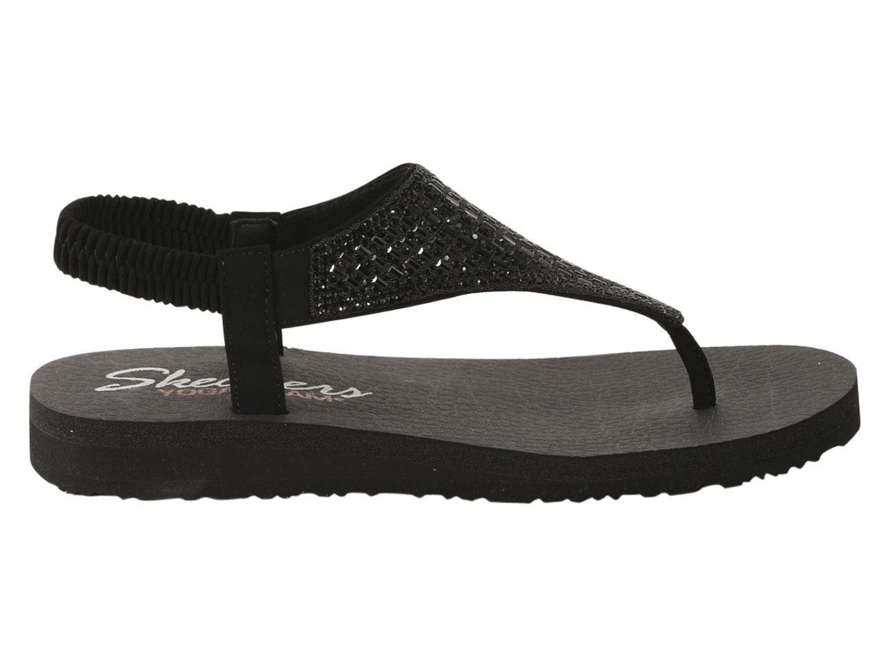 aee3e2a515da Skechers Women s Meditation Rock Crown Yoga Foam Sandals Shoes