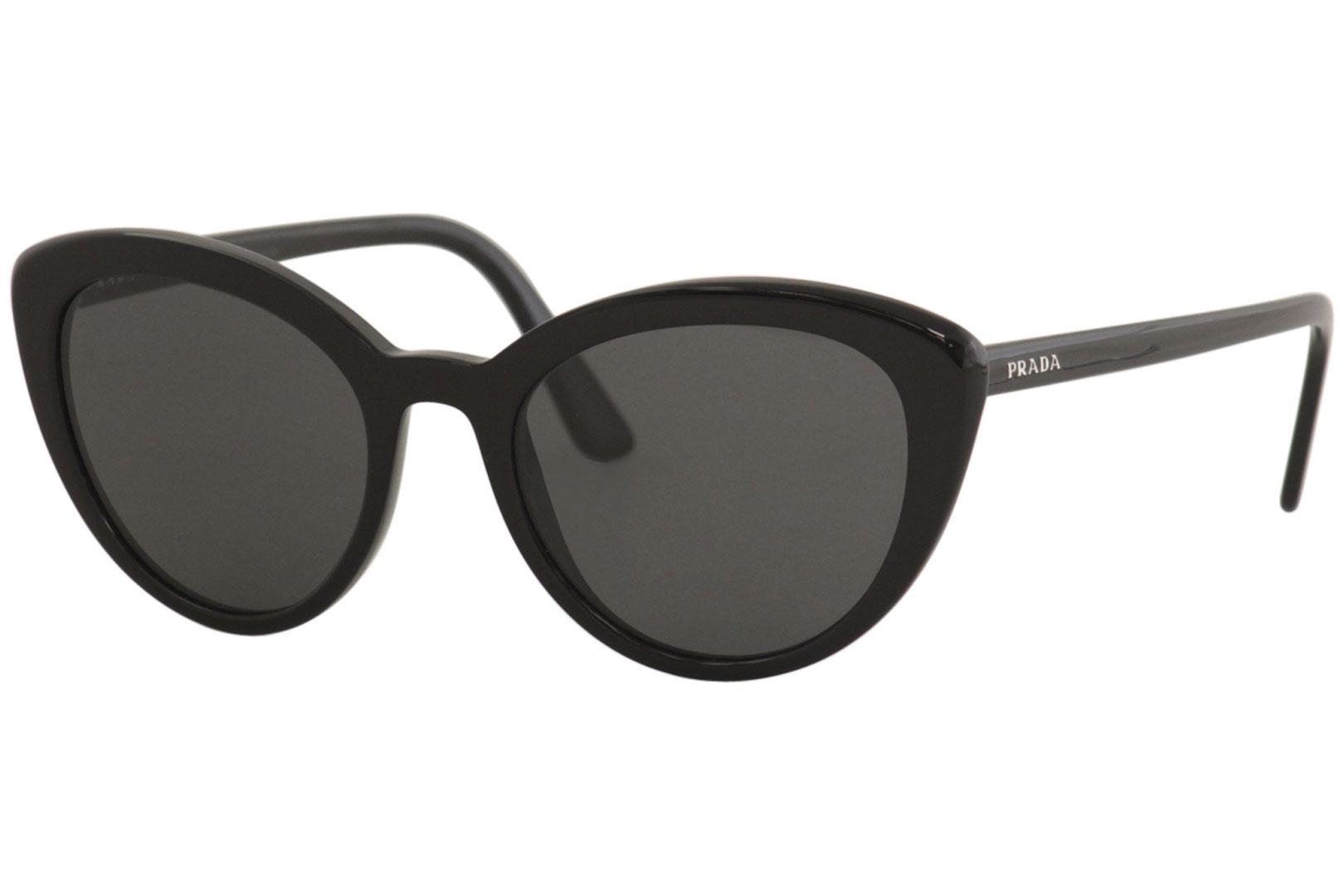 eba605dee7 Prada Women s SPR02V SPR 02 V Fashion Cat Eye Sunglasses by Prada. Touch to  zoom