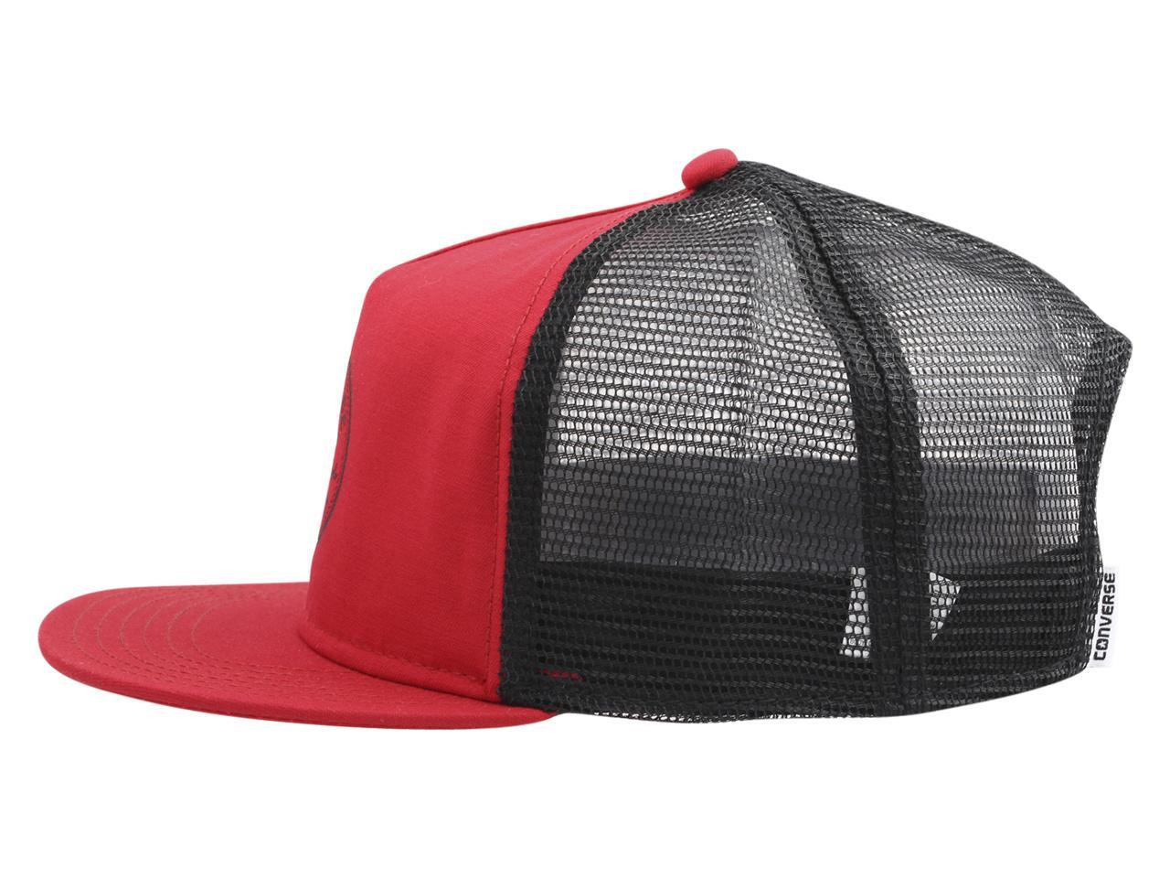 d668d6b96ec ... new cheap e3e57 fc416 Converse Mens All Star Chuck Taylor Core Trucker Cap  Baseball Hat ...