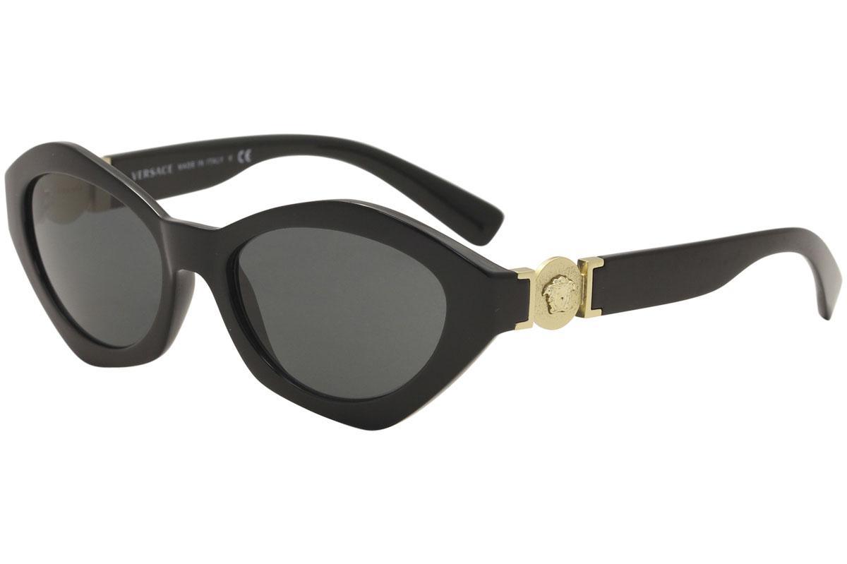 4e6ef9d7e5 Versace Women s VE4334 VE 4334 Oval Sunglasses