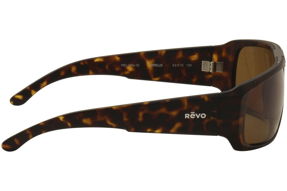 3b630a1ed3b Revo Men s Apollo RE1004 RE 1004 Wrap Sunglasses by Revo. 12345
