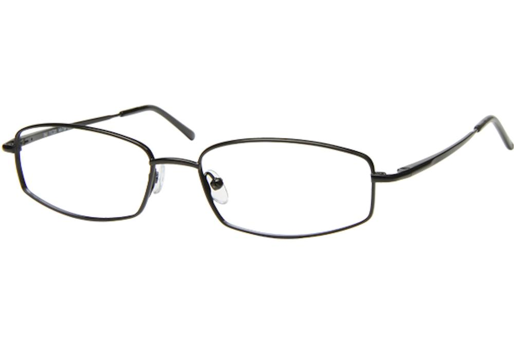 Image of Tuscany Men's Eyeglasses 467 Full Rim Optical Frame - Black   04 - Lens 54 Bridge 17 Temple 145mm