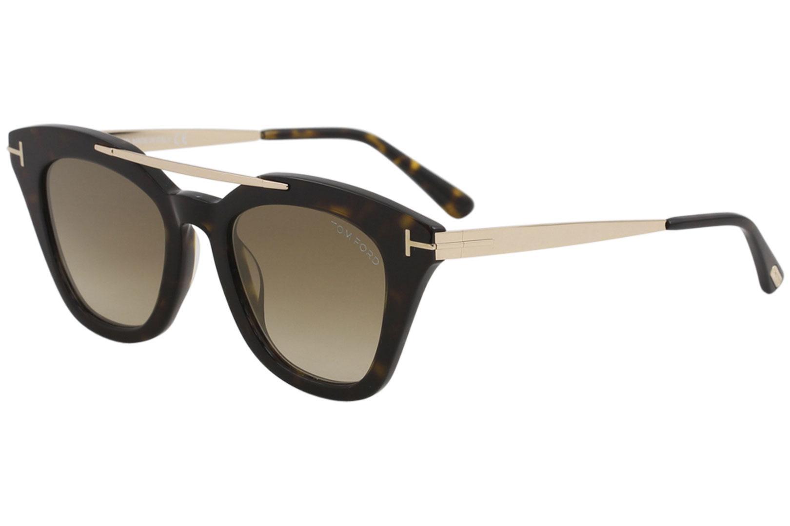 7fc7dfa9a210d Tom Ford Women s Anna-02 TF575 TF 575 Fashion Cat Eye Sunglasses