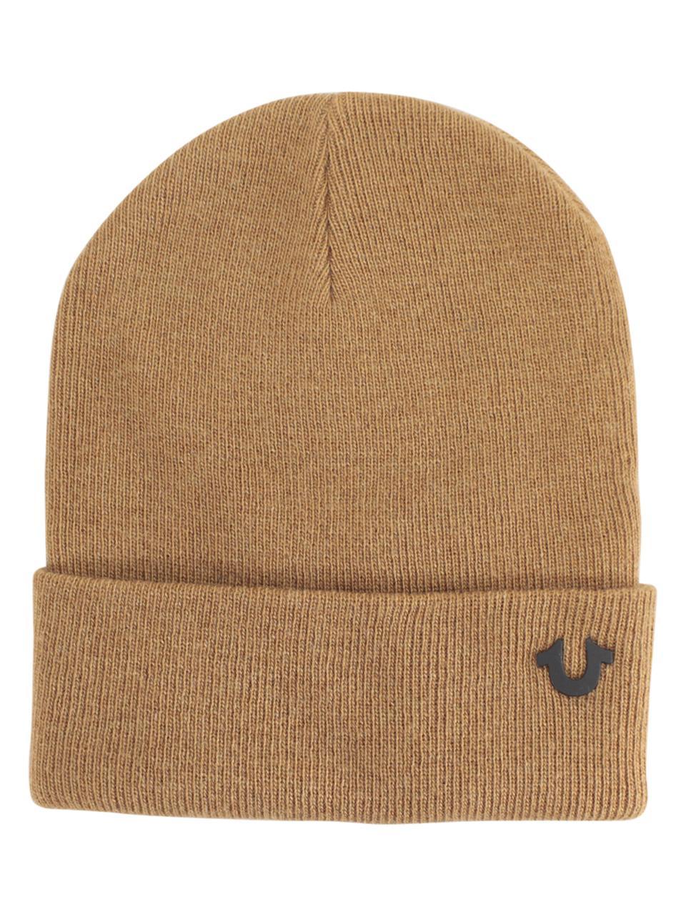 138b94e3cb4 True Religion Men s Indigo Dyed Cotton Watch Cap Beanie Hat
