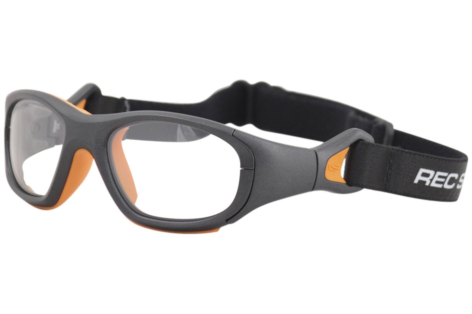 Image of - Gunmetal Orange/Clear Silver Mirror   325 - Lens 49 Bridge 16mm