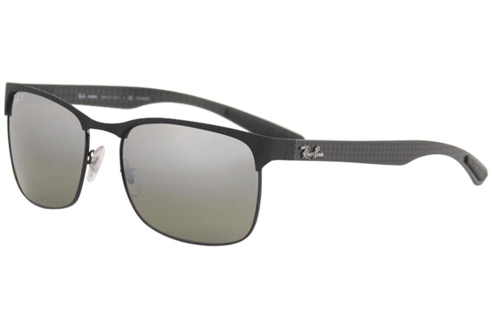 5ba3105d06 Ray Ban Men s Chromance RB8319CH 8319 Rectangle RayBan Polarized Sunglasses